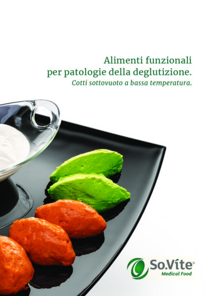 Alimenti funzionali per patologie della deglutizione